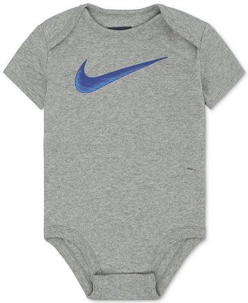 Swoosh Cotton Bodysuit, Baby Boys (0-24 months)