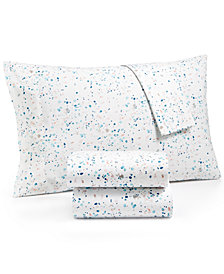 Whim by Martha Stewart  Collection Novelty Print Twin 3-pc  Sheet Set, 200 Thread Count 100% Cotton Percale, Created for Macy's