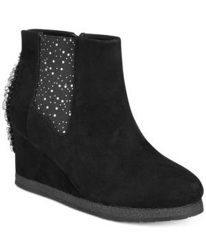 Badgley Mischka Kiara Wedge Boots, Little & Big Girls thumbnail