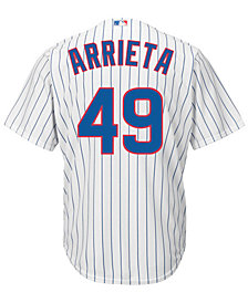 Majestic Men's Jake Arrieta Chicago Cubs Player Replica CB Jersey