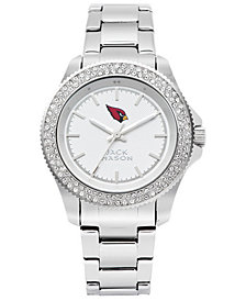 Jack Mason Women's Arizona Cardinals Glitz Sport Bracelet Watch