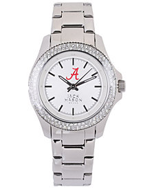Jack Mason Women's Alabama Crimson Tide Glitz Sport Bracelet Watch