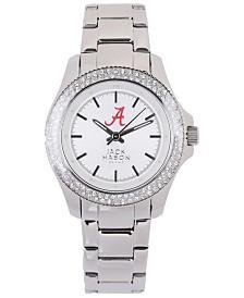 Jack Mason Women's Alabama Crimson Tide Glitz Sport Bracelet Watch