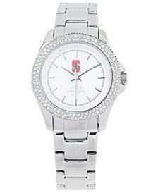 Jack Mason Women's Stanford Cardinal Glitz Sport Bracelet Watch