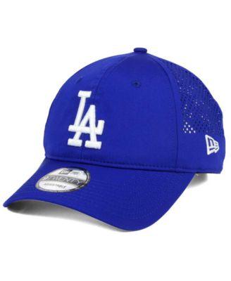 info for 97f19 be963 New Era Los Angeles Dodgers Perf Pivot 2 9TWENTY Adjustable Cap - Sports  Fan Shop By Lids - Men - Macy s
