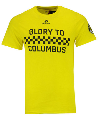adidas Men's Columbus Crew SC Jersey Hook T-Shirt