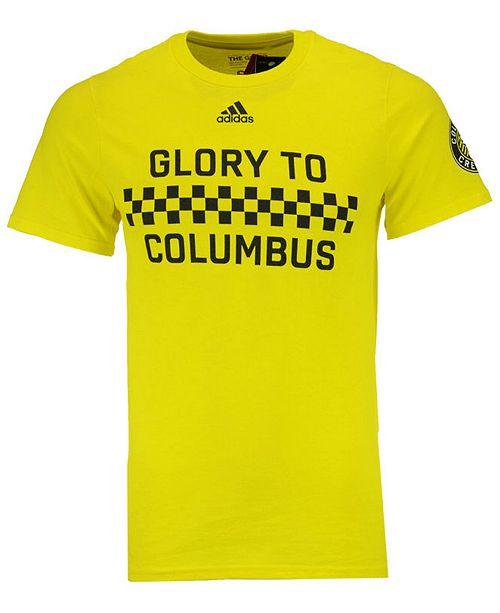 adidas Men's Columbus Crew SC Jersey Hook T-Shirt
