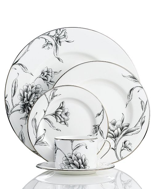 Marchesa By Lenox Dinnerware Floral Illustrations