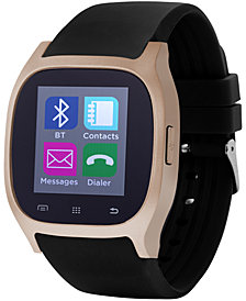 iTouch Unisex Black Rubber Strap Smart Watch 46x45mm ITC3360RG590-400