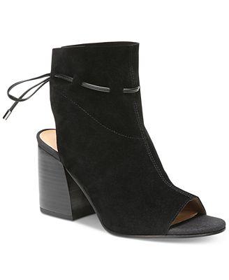 Franco Sarto Fenwick Peep-Toe Shooties Women's Shoes
