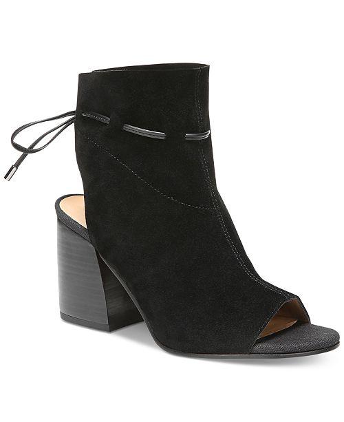 Franco Sarto Fenwick Peep-Toe Shooties Women's Shoes PLCAC