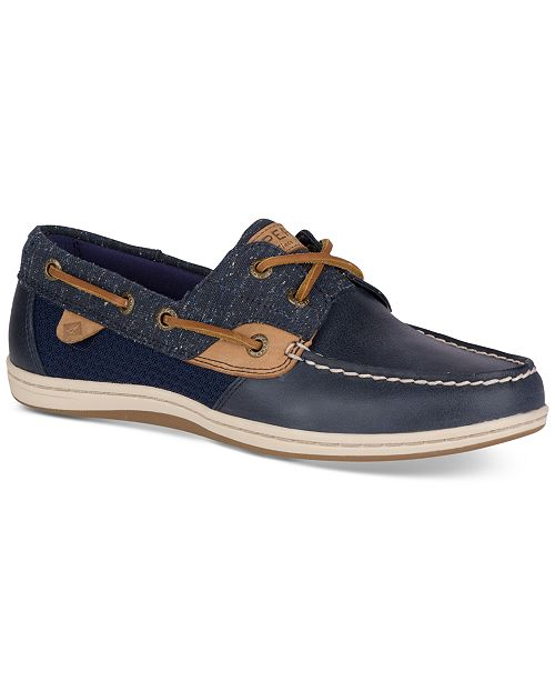 Women's Koifish Tweed Boat Shoes
