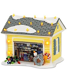 Snow Village The Griswold Holiday Garage