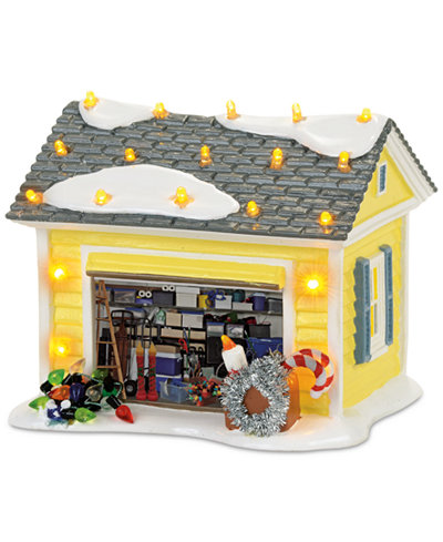 Department 56 Snow Village The Griswold Holiday Garage