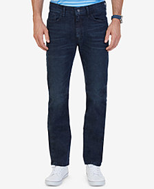 Nautica Men's Stretch Straight-Leg Jeans