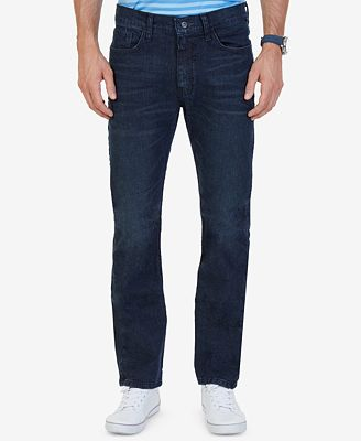 Nautica Men's Stretch Straight-Leg Jeans - Jeans - Men - Macy's