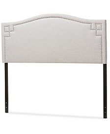 Aubrey Fabric Upholstered Queen Size Headboard