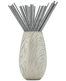 Joy Mangano Forever Fragrant Seaside Willow Sticks, 20-Ct. & Vase