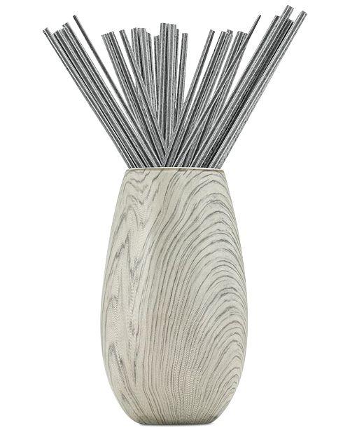 Joy Mangano Forever Fragrant Seaside Willow Sticks 20 Ct Vase