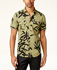 I.N.C. Men's Geometric Print Shirt, Created for Macy's