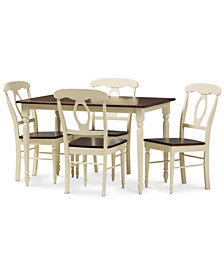 Napoleon 5-Pc. Dining Set, Quick Ship