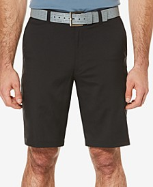 Men's Big and Tall Flat-Front Shorts