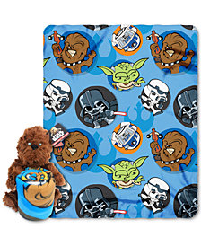 Star Wars Chewie Hugger Pillow & Throw Set by Disney