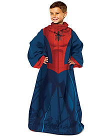 Marvel Kids' Spider-Man Spider Up Comfy Throw