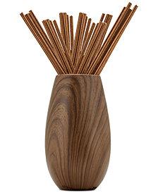 Joy Mangano Forever Fragrant Tranquil Lavender 20-Count Sticks & Vase