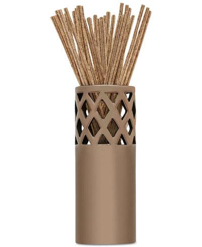 Joy Mangano Forever Fragrant 20-Count Seaside Willow Sticks & Vase