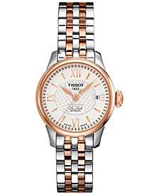 Women's Swiss Le Locle Automatic Two-Tone Stainless Steel Bracelet Watch 25mm
