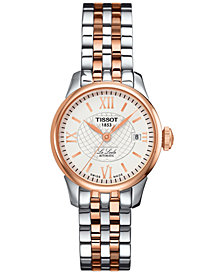 Tissot Women's Swiss Le Locle Automatic Two-Tone Stainless Steel Bracelet Watch 25mm