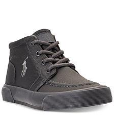 Polo Ralph Lauren Little Boys' Faxon II Mid Casual Sneakers from Finish Line