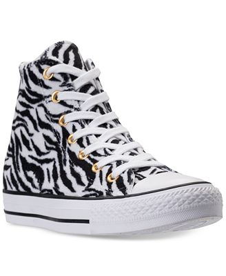 Converse Women's Chuck Taylor Animal Print Casual Shoes
