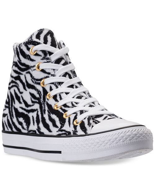 f8a7805e9ac ... Converse Unisex Chuck Taylor High-Top Animal Print Casual Sneakers from  Finish Line ...