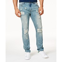 Deals on American Rag Men's Vintage Wash Distressed Jeans