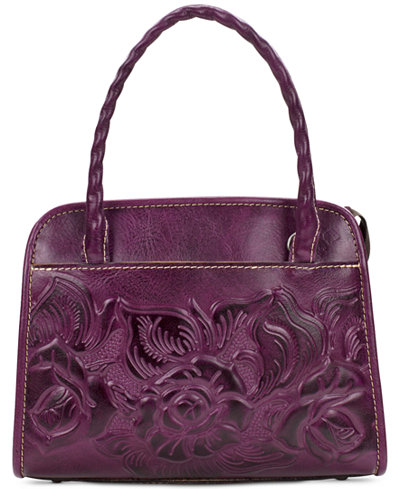 Patricia Nash Oil-Rubbed Paris Small Satchel