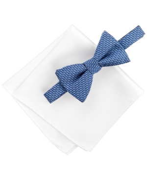 Alfani Blue Bow Tie &...