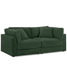 "Aryanna 88"" 2-Pc. Modular Sofa, Created for Macy's"