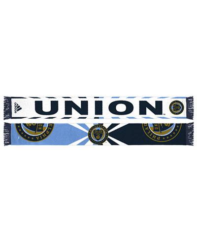 adidas Philadelphia Union Jacquard Wordmark Scarf