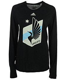 adidas Women's Minnesota United FC Primary Logo Long Sleeve T-Shirt