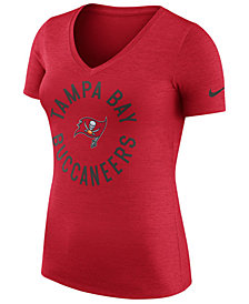Nike Women's Tampa Bay Buccaneers Dri-Fit Touch T-Shirt