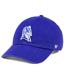 '47 Brand Duke Blue Devils CLEAN UP Cap