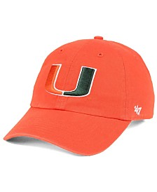 '47 Brand Miami Hurricanes CLEAN UP Cap