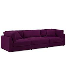 Aryanna 3-Pc. Modular Sofa, Created for Macy's