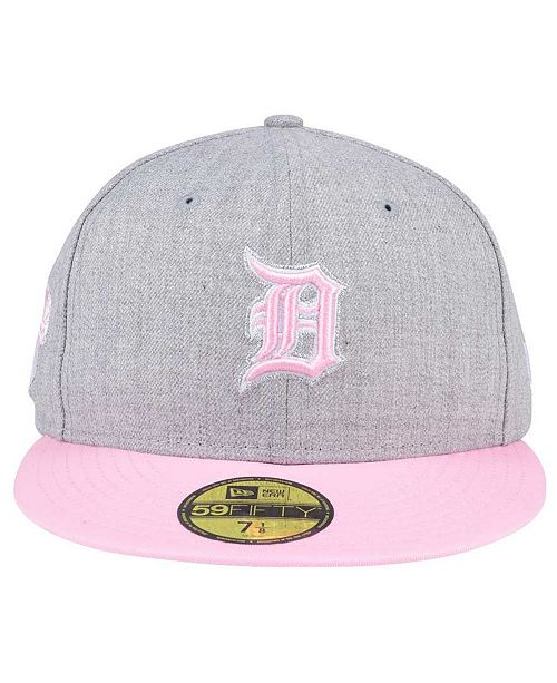 47c22df7e634c shop new era detroit tigers perfect pastel 59fifty cap sports fan shop by  lids men macys