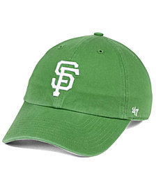'47 Brand San Francisco Giants Fatigue Green CLEAN UP Cap