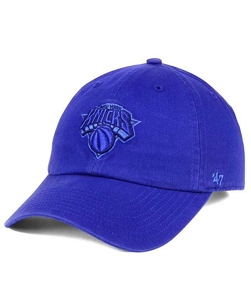 '47 Brand New York Knicks Triple Rush CLEAN UP Cap