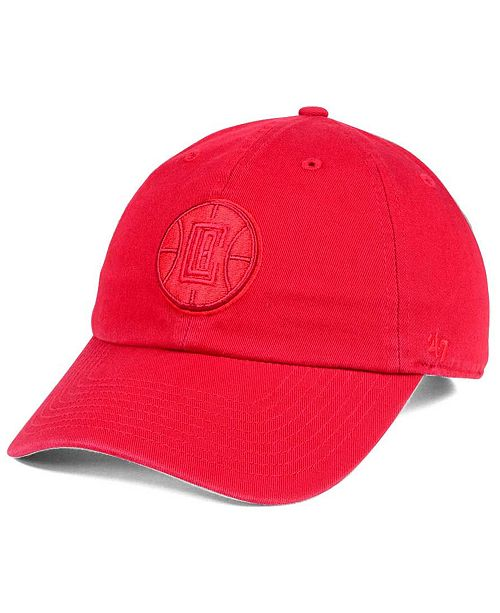 '47 Brand Los Angeles Clippers Triple Rush CLEAN UP Cap