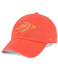 '47 Brand Oklahoma City Thunder Triple Rush CLEAN UP Cap